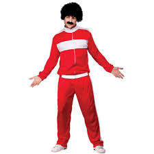 80s retro trackie costume fancy dress costumes em3202