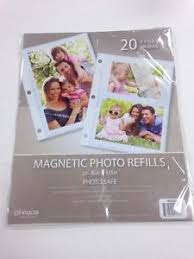 Photo Album For 8x10 Pictures Magnetic Photo Album 8x10 Inch 10 Pack For Up To 20 8x10