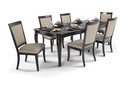 Dining Room Furniture Glasgow Gatsby 7 Piece Dining Set With Side Chairs Bob U0027s Discount Furniture