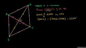 proof diagonals of a parallelogram video khan academy