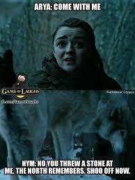 Arya Meme - f k you hooman 9gag