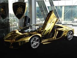ferrari gold and black gold lamborghini yours for 7 5 million