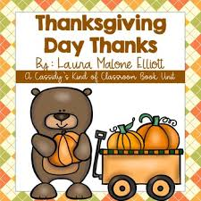 thanksgiving day thanks book unit by cassidy s of classroom