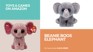 beanie boos elephant toys u0026 games amazon