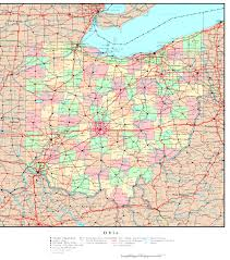 Political Map Of Canada Ohio Political Map