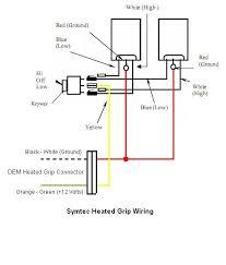symtec heated grip wiring diagram