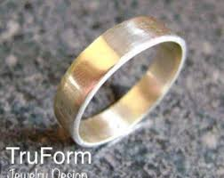 wedding ring alternative heavy wedding ring etsy