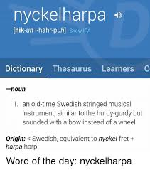 Memes Dictionary - nyckelnarpa nik uh i hahr puh show ipa dictionary thesaurus