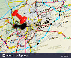 Nd Road Map Road Map Map Madrid Stockfotos U0026 Road Map Map Madrid Bilder Alamy