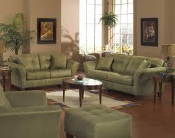 612 isabelle living room set in green velvet by meridian furniture
