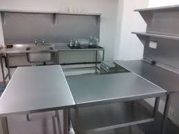 Stainless Steel Kitchen Tables And Benches Made In The North West - Kitchen preparation table