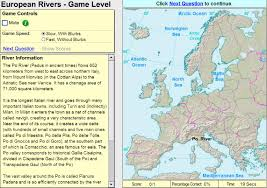 Europe Rivers Map by Interactive Map Of Europe Rivers Of Europe Game Sheppard