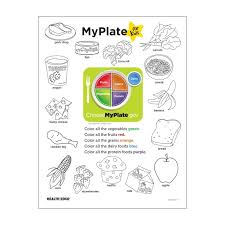myplate activity sheets images reverse search