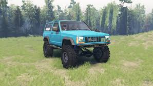 jeep cherokee green jeep cherokee xj 1990 for spin tires
