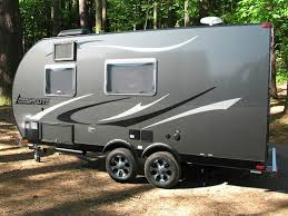 light weight travel trailers aluminum lightweight travel trailer the small trailer enthusiast