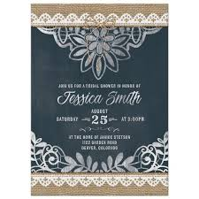 rustic bridal shower invitations rustic bridal shower invitation burlap lace chalkboard