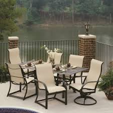 Tall Patio Tables Furniture Enjoying Durable And Quality Cast Aluminum Patio