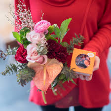 flowers and chocolate flowers and seattle chocolate truffles gift set k floral