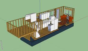 Tiny House Layout Transparent Port Wall