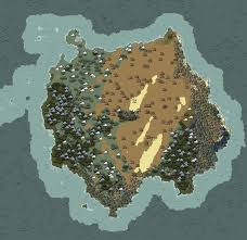 World Biomes Map by Procedural World Geography Is Destiny