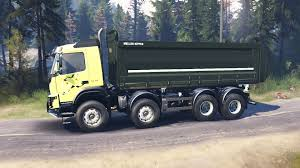 2014 volvo truck fmx 2014 for spin tires
