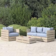 canapé en bois de palette diy bricolage fauteuil en palette bois canape kardin faire soi meme