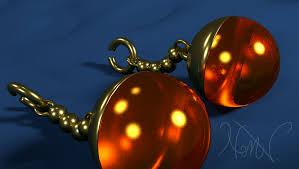 potara earrings orange potara earrings weasyl