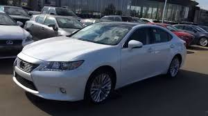 lexus sedan 2014 white 2014 lexus es 350 fwd 4dr sedan technology package review