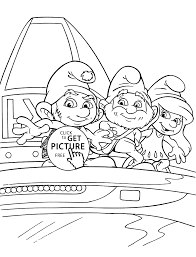 smurf coloring pages funny smurfs coloring pages for kids printable free coloing