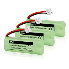 cordless table ls rechargeable 3 pack imah ryme b5 rechargeable cordless phone battery for bt 18443