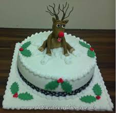 Christmas Cake Decoration Ideas Uk Deb U0027s Cake Creations