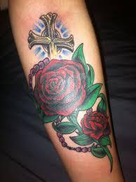 cross on forearm nathaniel michael owens certified artist