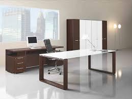 bureau verre design contemporain inspirant bureau en verre design komputerle biz