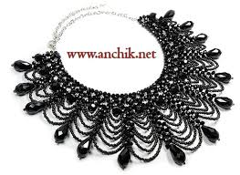 beaded collar necklace images Tutorial beaded collar necklace 3 steps jpg