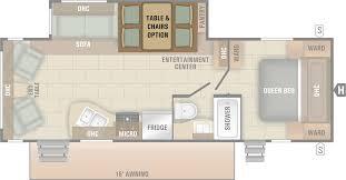100 travel trailer floor plans travel trailer floor plan