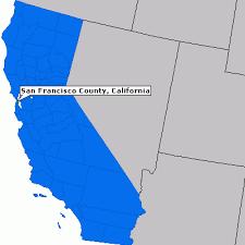 san francisco map california san francisco county california county information epodunk