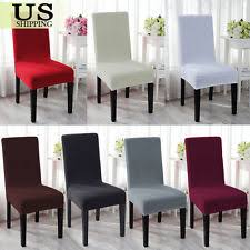 dining room chairs covers dining room chair slipcovers ebay