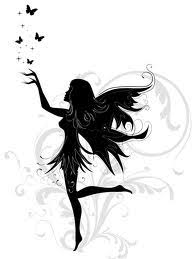 simple fairy silhouette google search fantasy pinterest