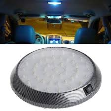 led ceiling dome light 1pc car vehicle 12v 46 led interior indoor roof ceiling dome light