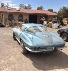 how many 63 split window corvettes were made never this 1962 63 chevrolet corvette stingray split window
