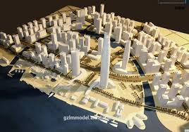 trustworthy architectural model maker for miniature city