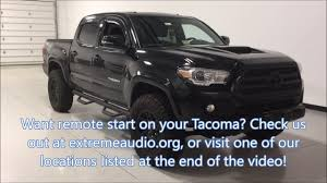 remote start toyota tacoma 2016 toyota tacoma remote start