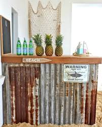 Tiki Patio Furniture by Diy Beach Bar For The Home Http Www Completely Coastal Com 2016