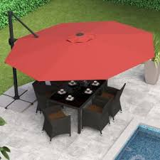 13 Foot Cantilever Patio Umbrella 13 Foot Patio Umbrella On Hayneedle 13 Ft Umbrellas