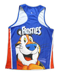cycling jerseys cycling jackets and running vests foska com kellogg u0027s frosties running vest foska com