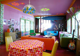 Beautiful Home Interiors A Gallery by Beautiful Colorful Beach House Interior In Santa Monica