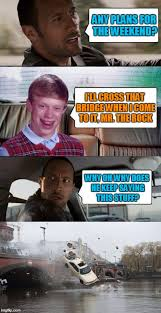 The Rock Meme Car - one does not simply move a sleeping cat