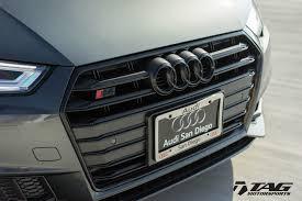 Audi Q7 Matte Black - oem black optics package for b9 audi s4 2018 tag motorsports