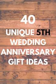 5th year anniversary gift ideas 5 year anniversary 1 gift that reminds you of each year of