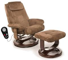 Modern Recliner Chair Furniture Modern Recliner Chair With Brown Velvet Seat And Back